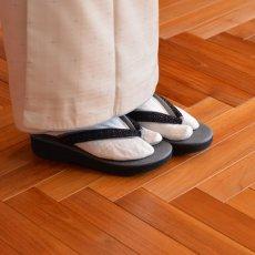 画像11: 七宝レースの足型カレンブロッソ【黒】 (11)