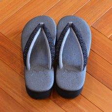 画像6: 七宝レースの足型カレンブロッソ【黒】 (6)