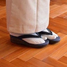 画像11: 七宝レースの足型カレンブロッソ【青】 (11)