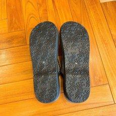画像9: 七宝レースの足型カレンブロッソ【黒】 (9)