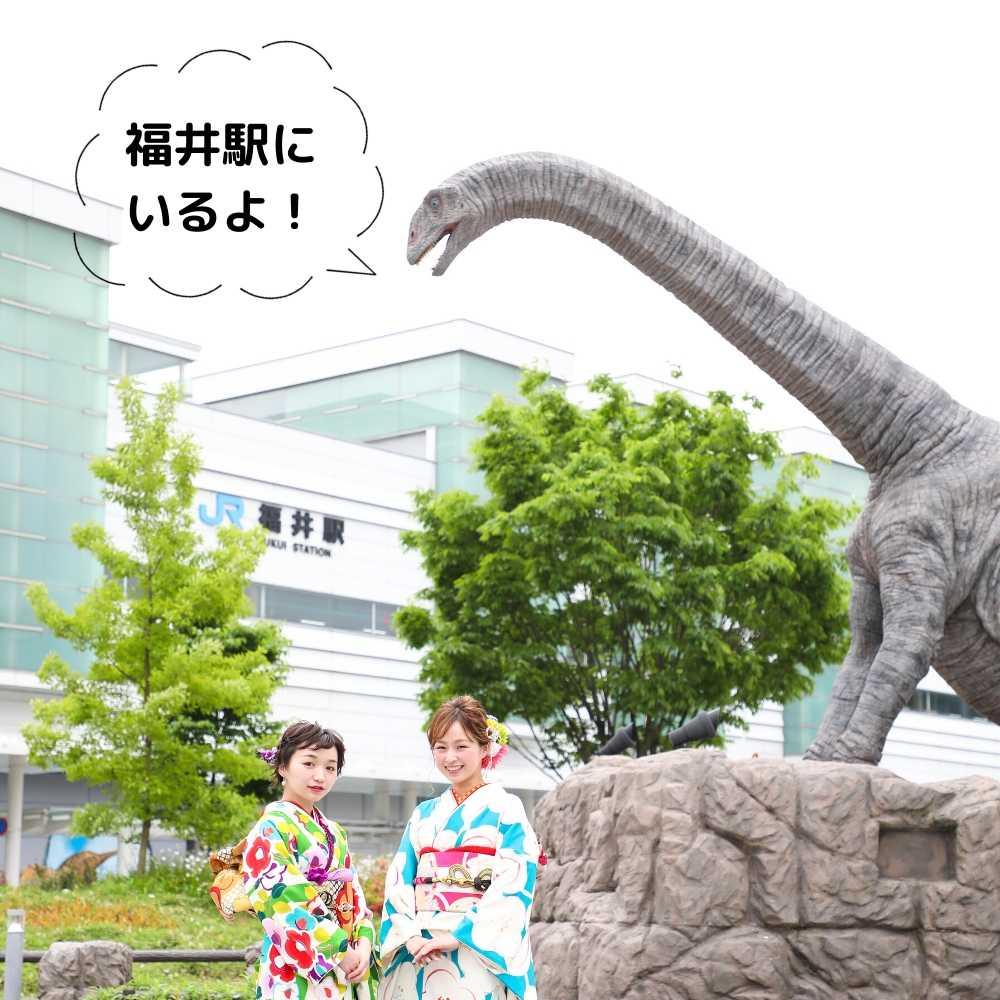 恐竜帯留め|フクイティタン